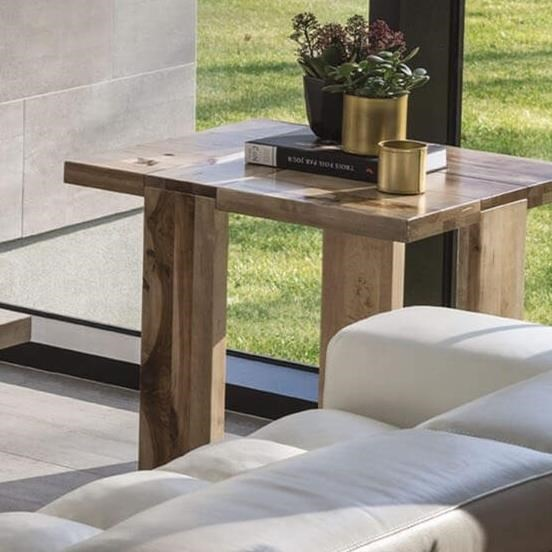 Loft - Living Customizable End Table by Canadel at Saugerties Furniture Mart