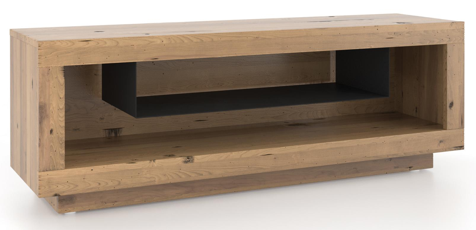 Loft - Living Customizable Media Unit by Canadel at Dinette Depot