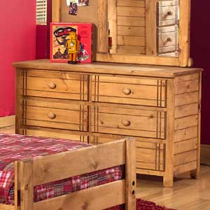 Canyon Arbor Creek 6 Drawer Dresser