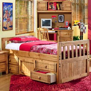 Canyon Arbor Creek Five Step Wooden Bunk Bed Ladder