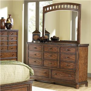 Canyon Craftman Dresser and Mirror