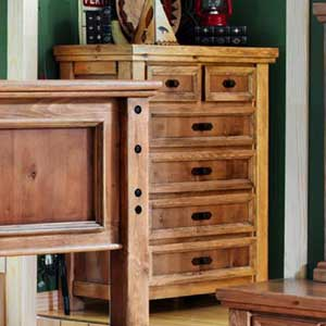 Canyon Rustic Chest of Drawers