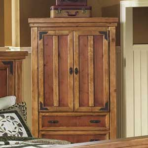 Canyon Rustic TV Armoire