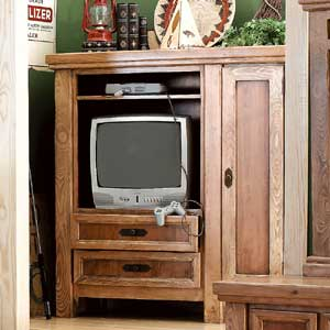 Canyon Rustic Entertainment Cabinet