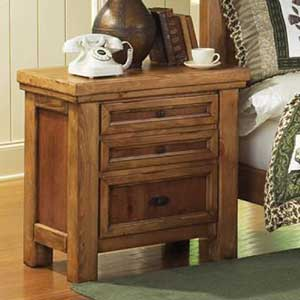 Canyon Rustic 3 Drawer Night Stand