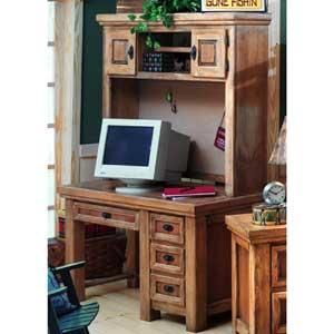 Canyon Rustic Desk & Hutch