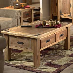 Canyon Rustic Cocktail Table