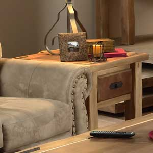 Canyon Rustic End Table