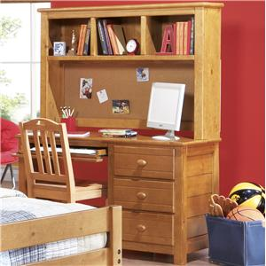 Canyon Creekside Desk and Hutch