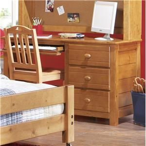 Canyon Creekside Three-Drawer Computer Desk
