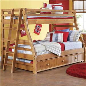 Canyon Creekside Twin/Full Bunk Bed