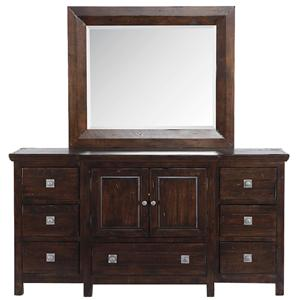 Canyon Tahoe Dresser and Mirror