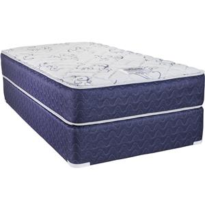 Twin VertiCoil Mattress and Low Profile Semi-Flex Foundation