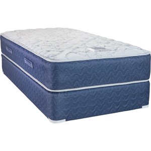 Queen Innerspring Mattress and Low Profile Semi-Flex Foundation