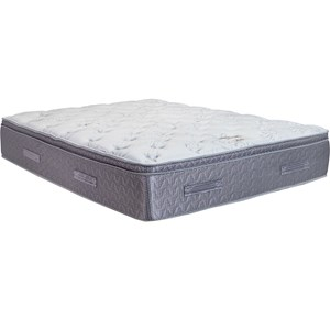 Queen Comfort Plush Pillow Top Mattress and Essential Adjustable Foundation