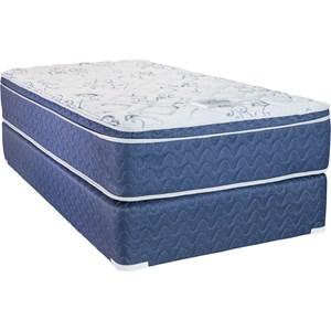 King Innerspring Mattress and Twin SFH Foundation