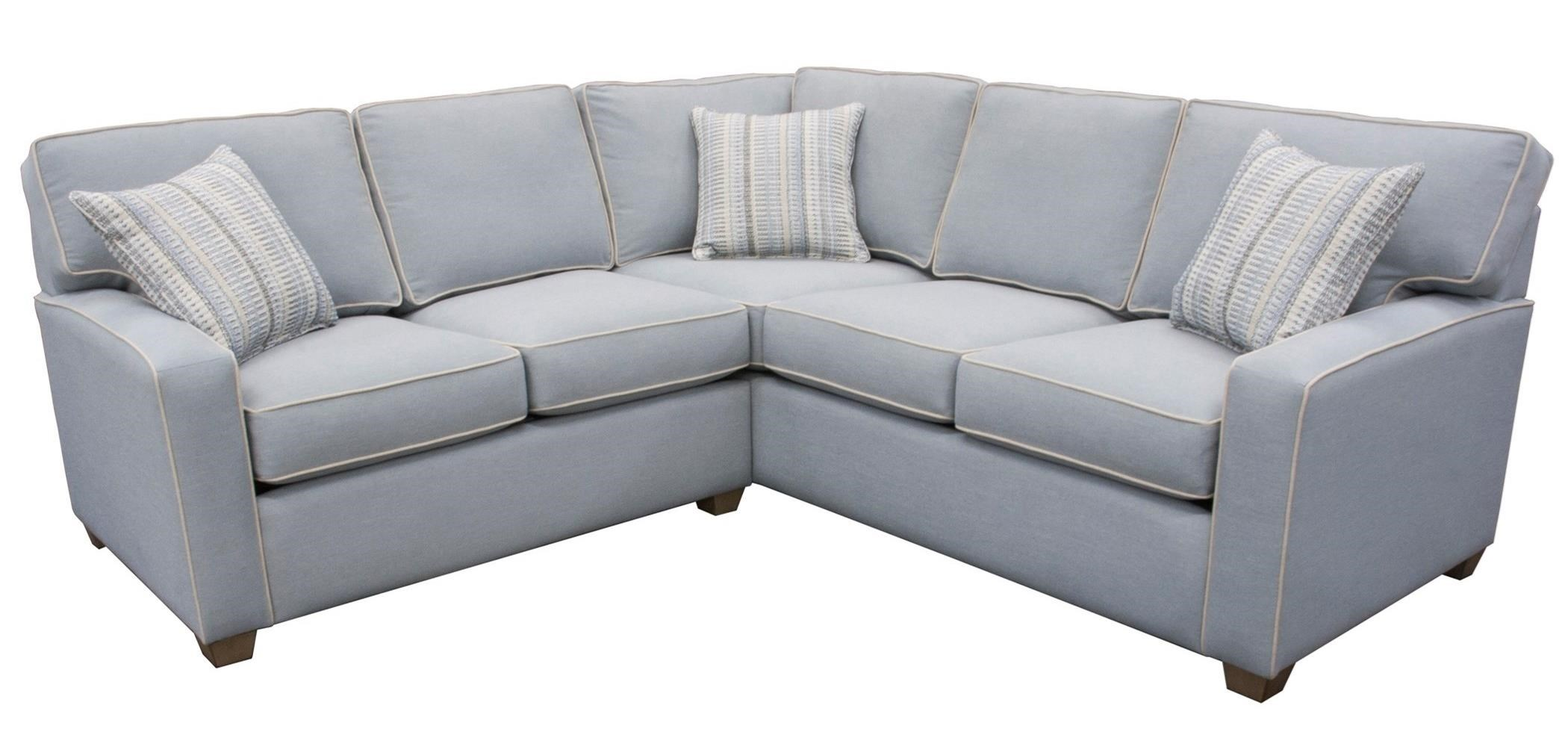 145 2 Pc Corner Sectional Sofa by Capris Furniture at Esprit Decor Home Furnishings