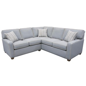 Two Piece Corner Sectional Sofa