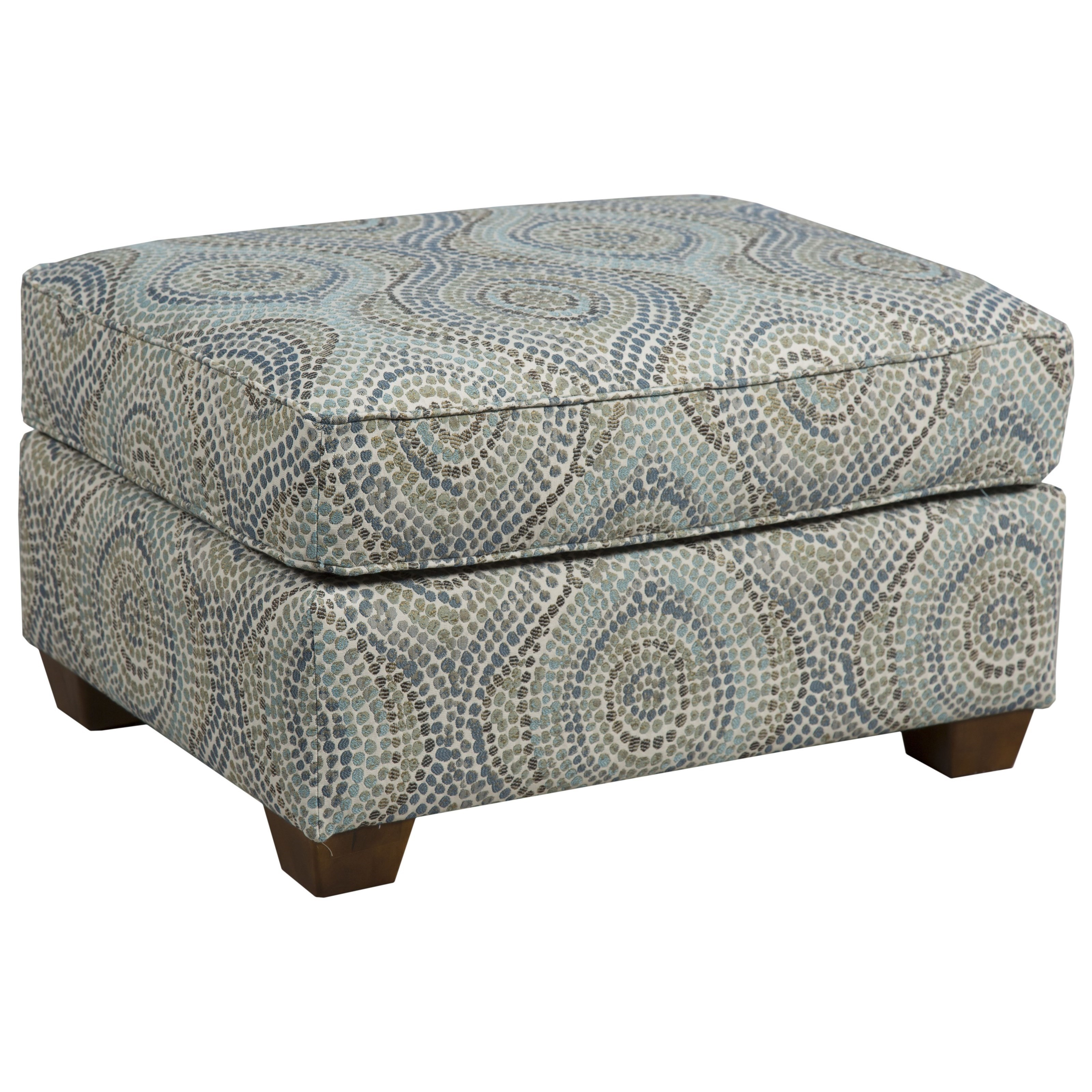 145 Ottoman by Capris Furniture at Esprit Decor Home Furnishings