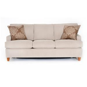 Contemporary Small-Scale Sleeper Sofa