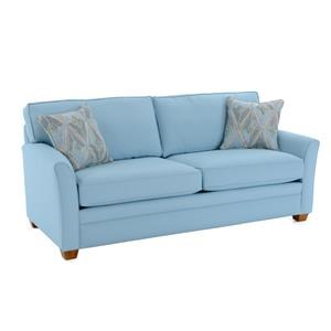 Casual Flared Arm Sleeper Sofa