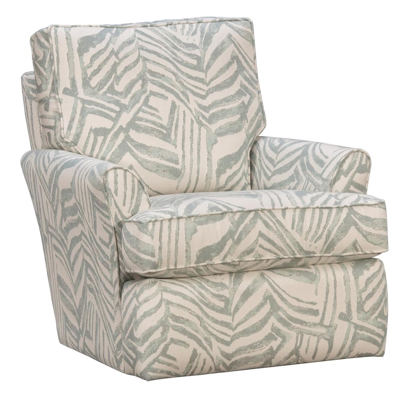 223SG Swivel Glider Chair by Capris Furniture at Esprit Decor Home Furnishings