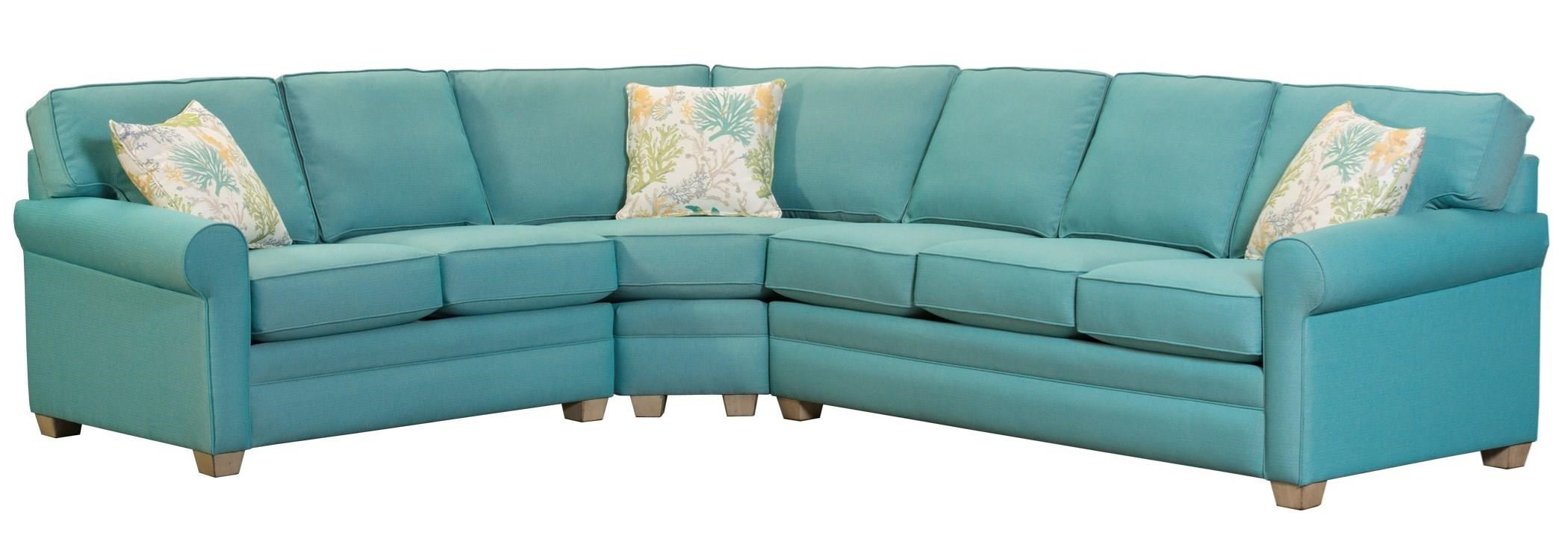 402 3 Pc Sectional Sofa by Capris Furniture at Esprit Decor Home Furnishings