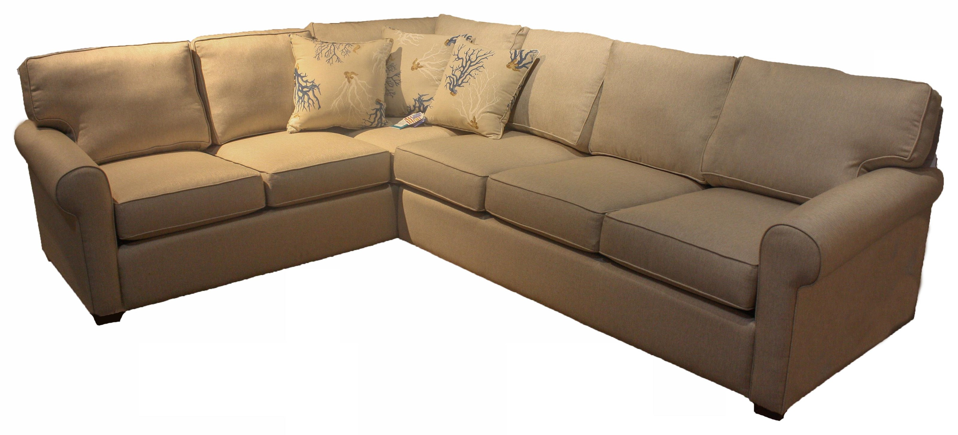 402 2 PC Sectional by Capris Furniture at Esprit Decor Home Furnishings