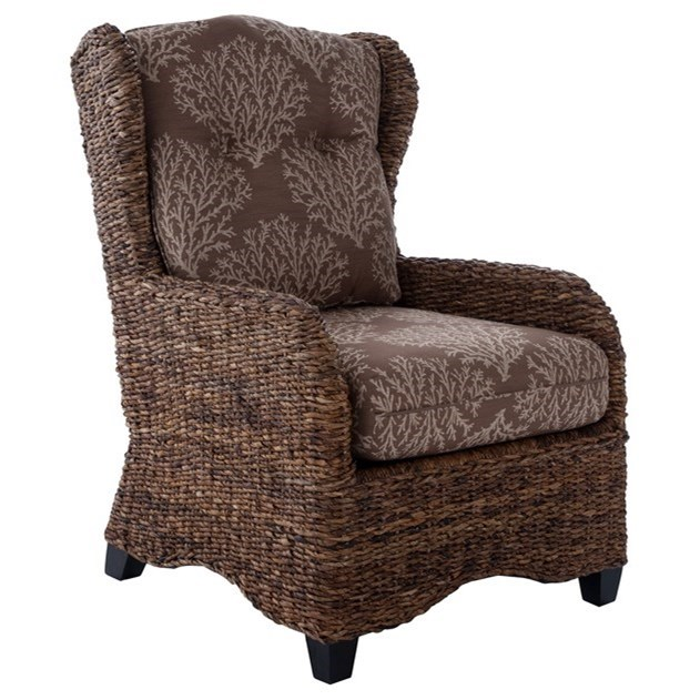 700 Woven Accent Chair by Capris Furniture at Esprit Decor Home Furnishings