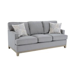 Queen Sleeper Sofa with Accent Pillows