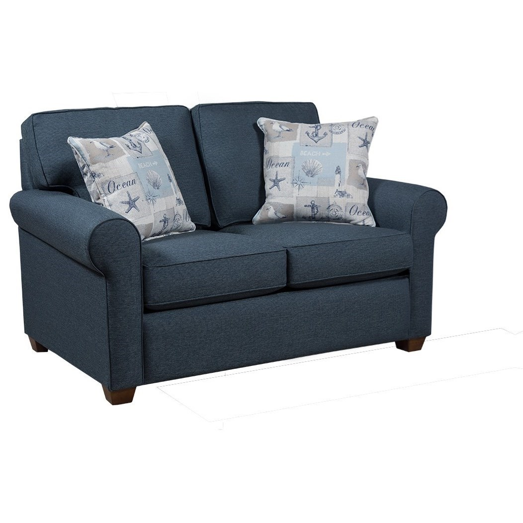 912 Loveseat by Capris Furniture at Esprit Decor Home Furnishings