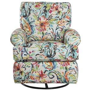 Casual Swivel Glider Chair