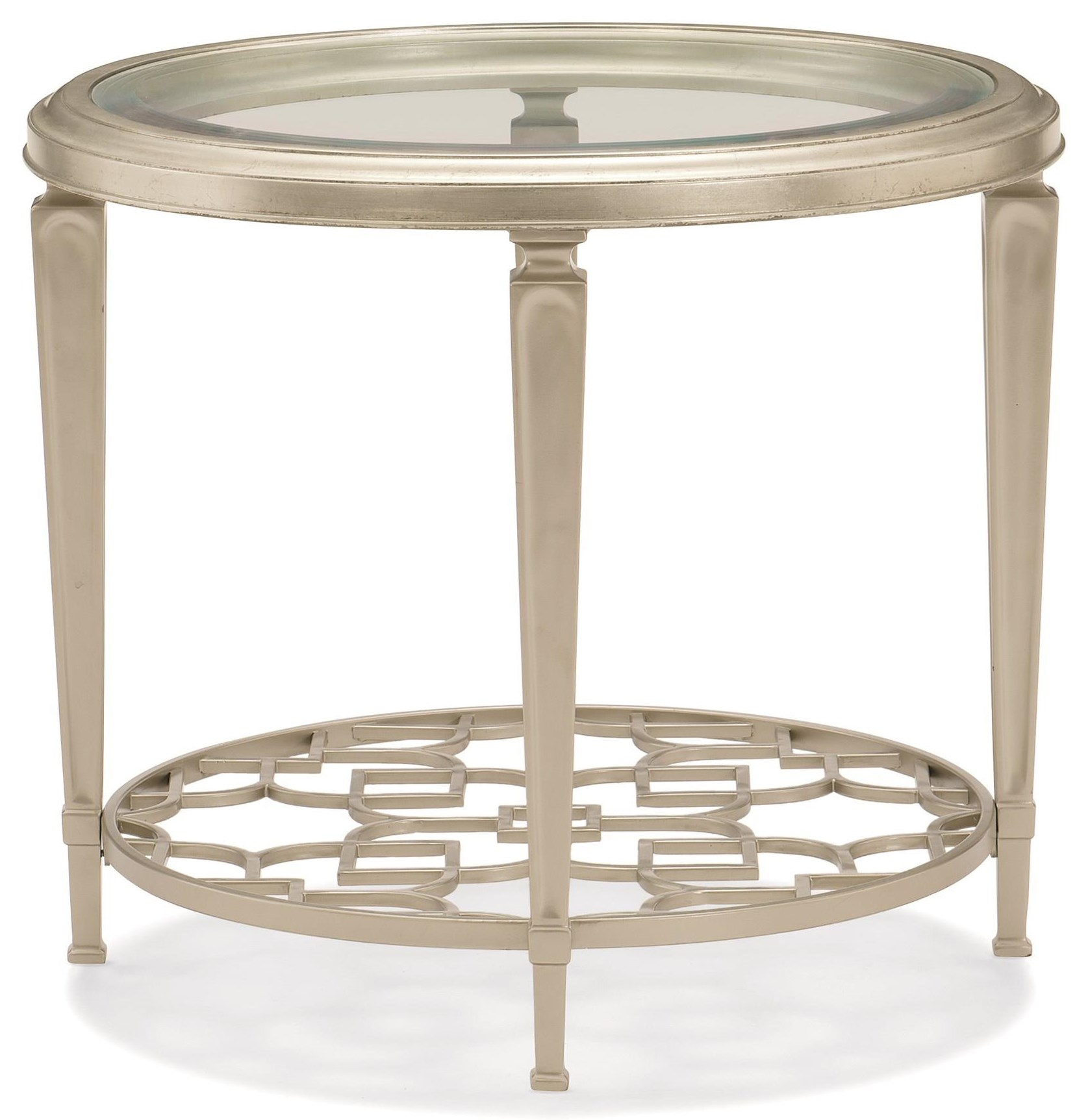 Caracole Classic Round End Table by Caracole at Baer's Furniture