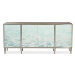 Contemporary Sideboard with Adjustable Shelves