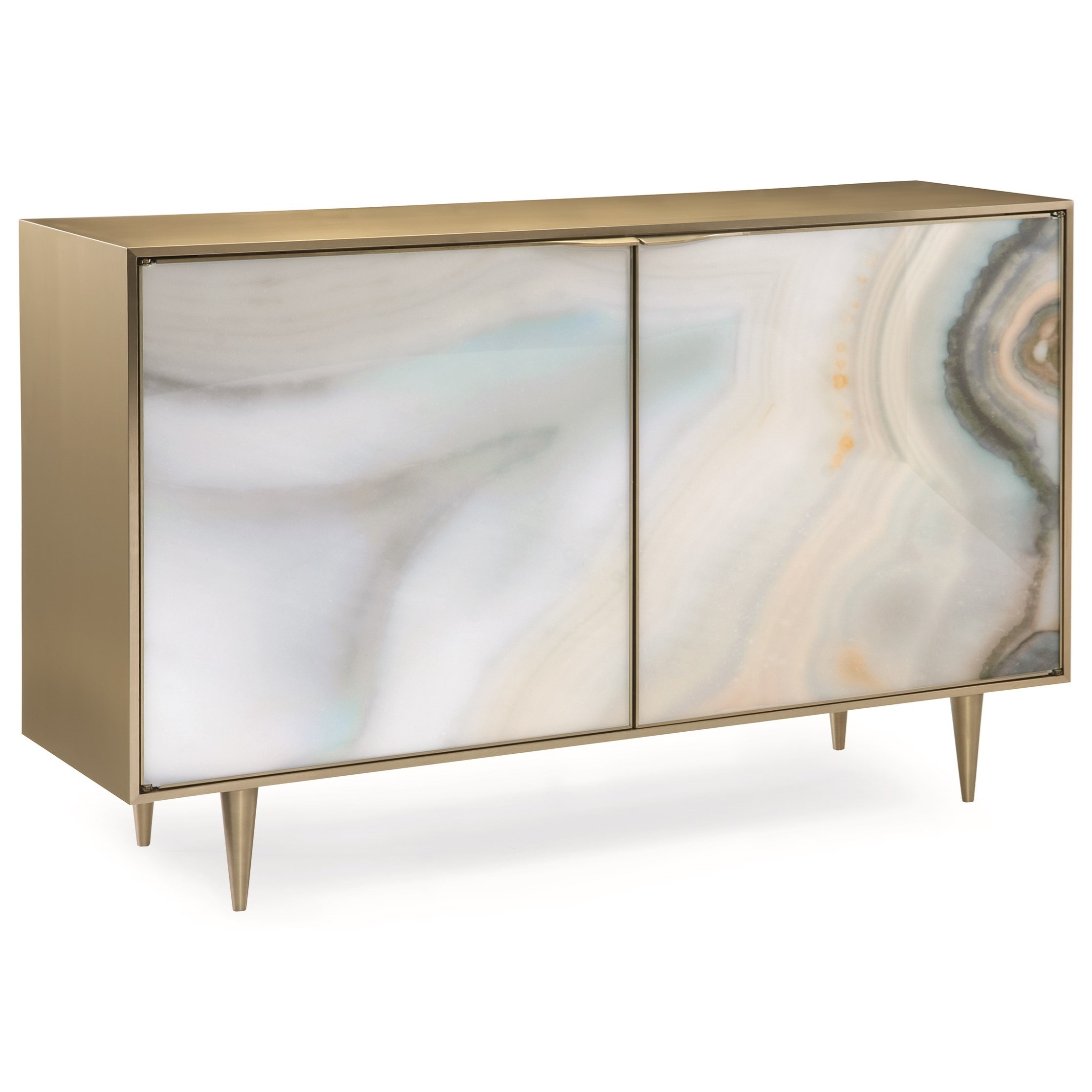 """Caracole Classic """"Extrav-Agate"""" Accent Chest by Caracole at Baer's Furniture"""