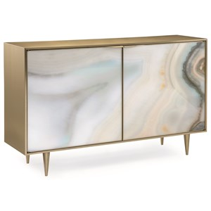 """""""Extrav-Agate"""" Accent Chest"""