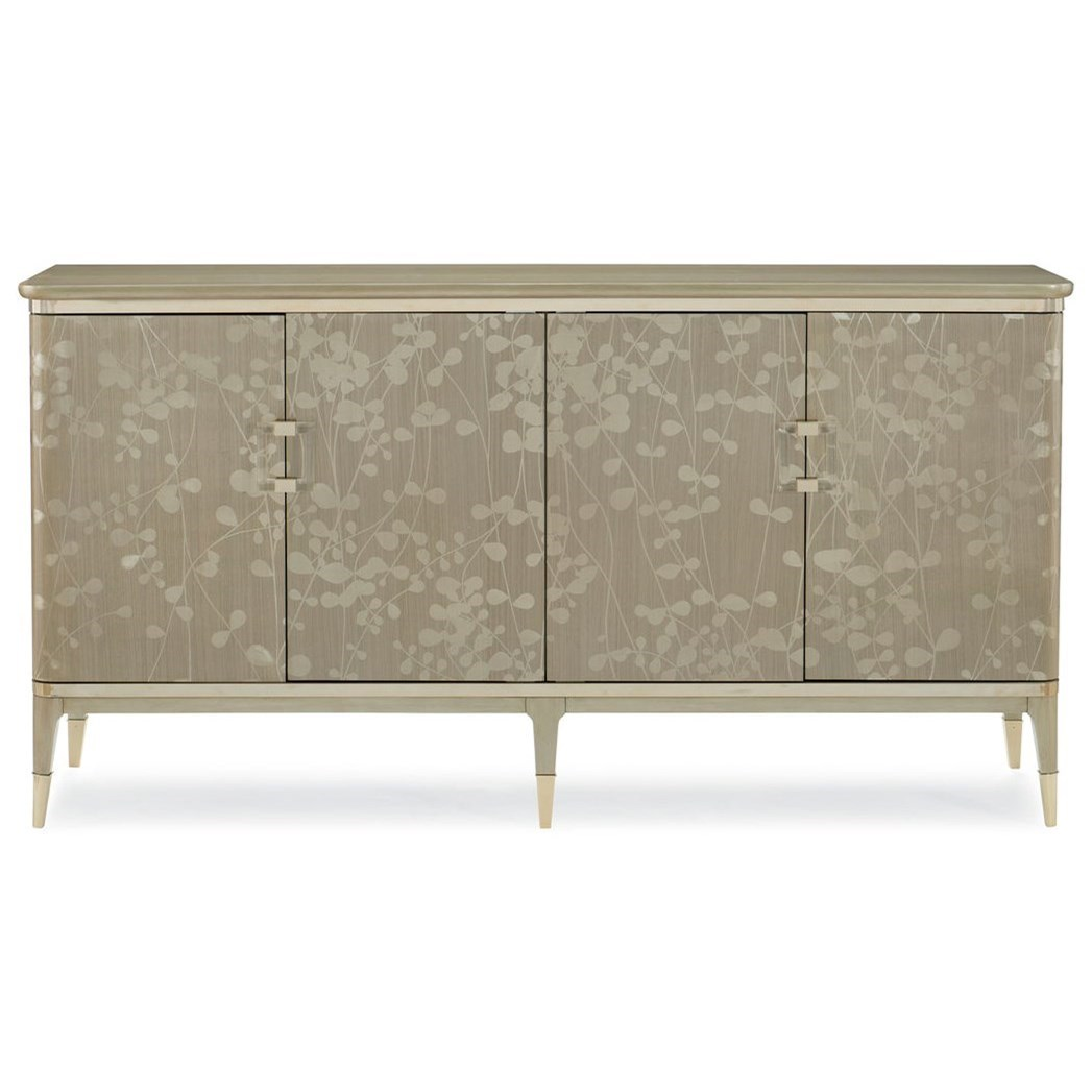 """Caracole Classic The """"Turn a New Leaf"""" Buffet by Caracole at Baer's Furniture"""