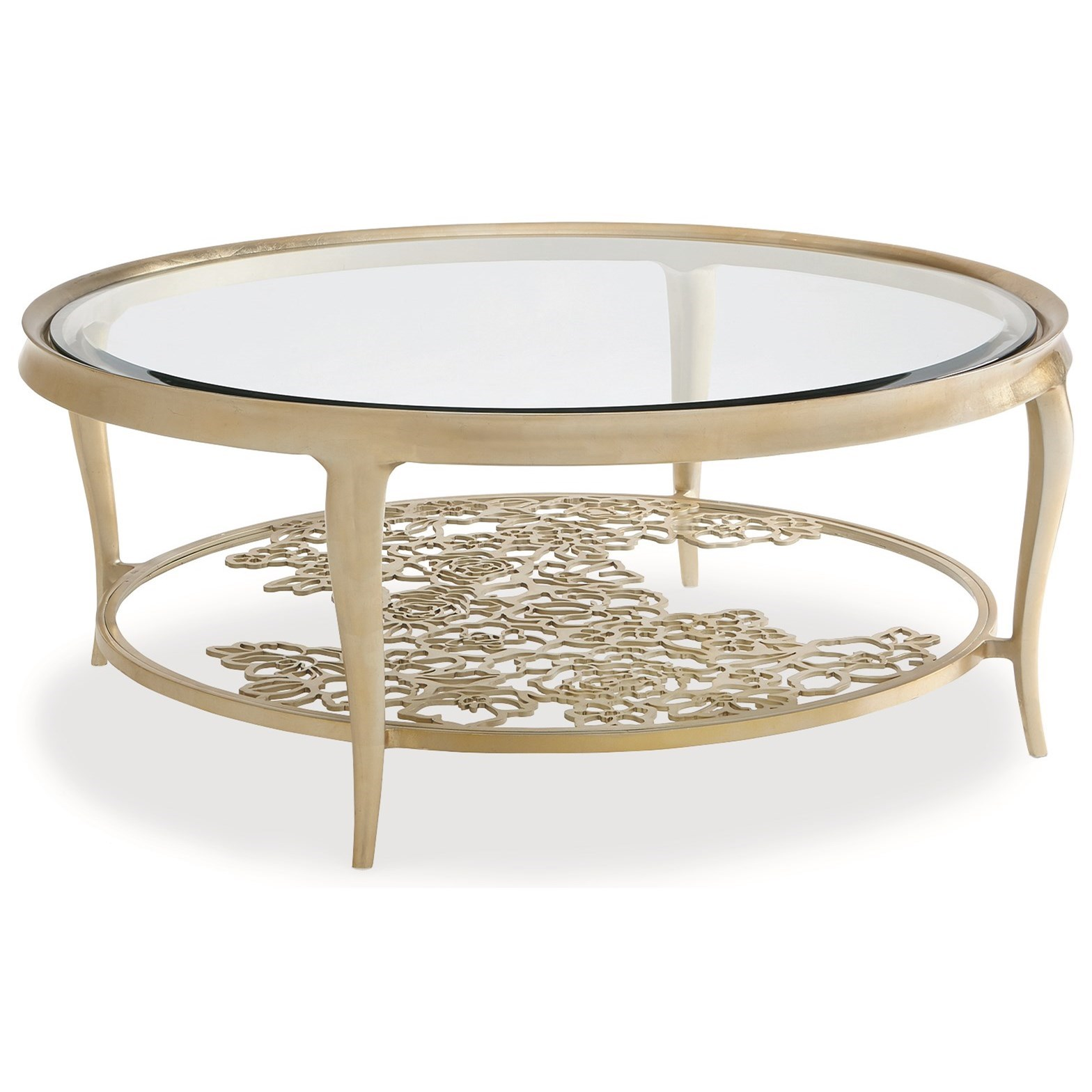 """Caracole Classic """"Handpicked"""" Cocktail Table by Anthology Collections at Sprintz Furniture"""