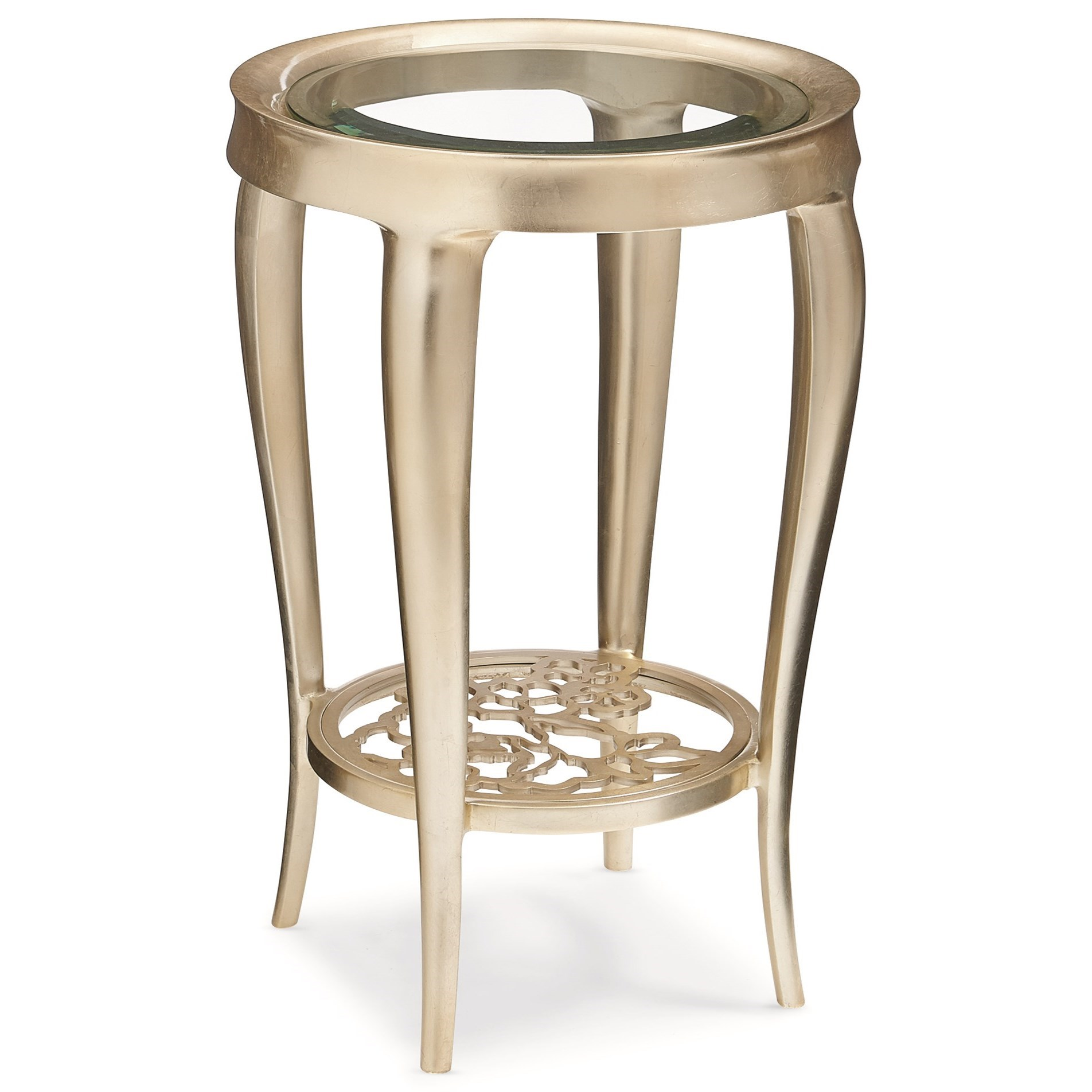 """Caracole Classic """"Just For You"""" End Table by Caracole at Baer's Furniture"""