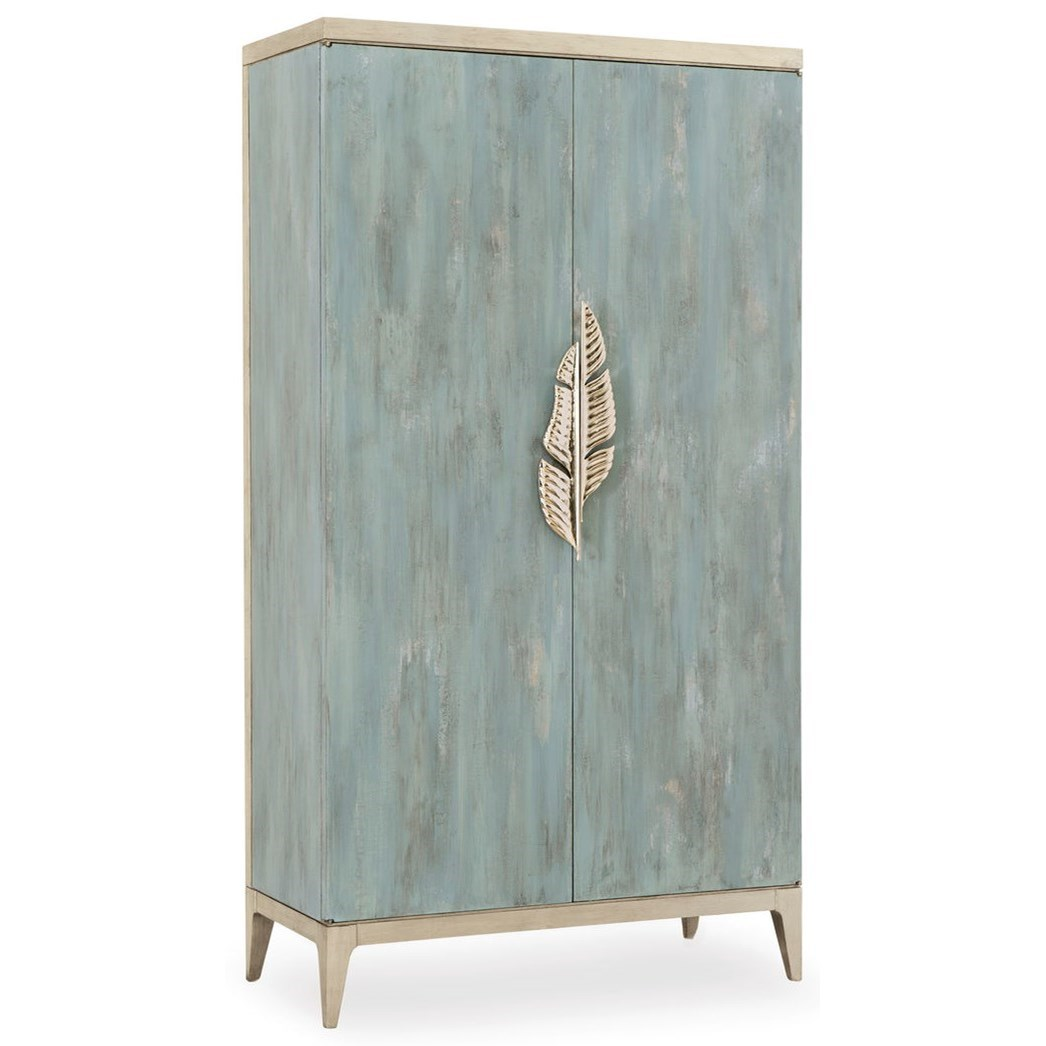 """Caracole Classic The """"Watercolours"""" Armoire by Caracole at Baer's Furniture"""