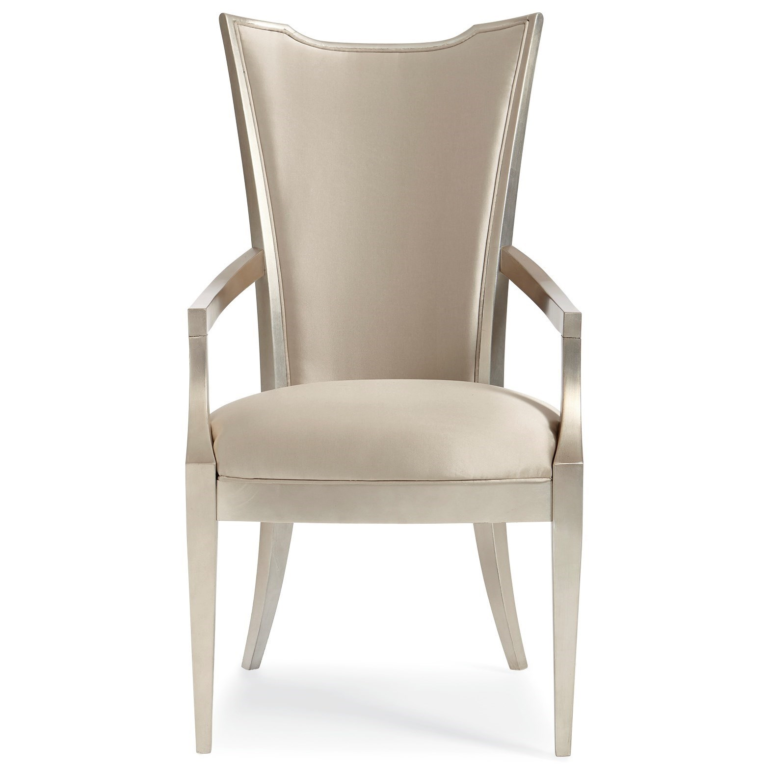 Caracole Classic Very Appealing Dining Arm Chair by Caracole at Baer's Furniture