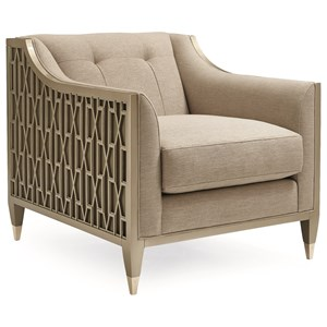 """""""Chair-ish"""" Upholstered Chair"""