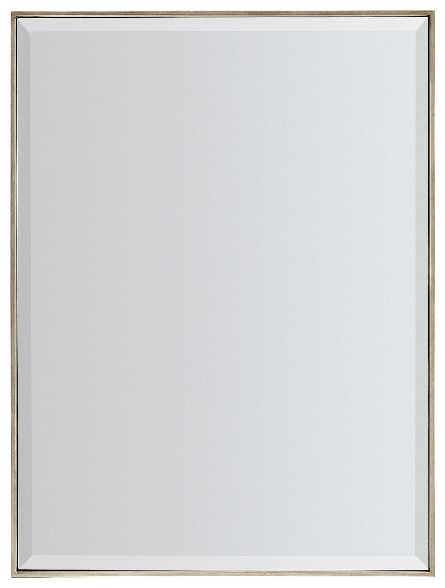 Remix Rectangular Wall Mirror by Caracole at Baer's Furniture