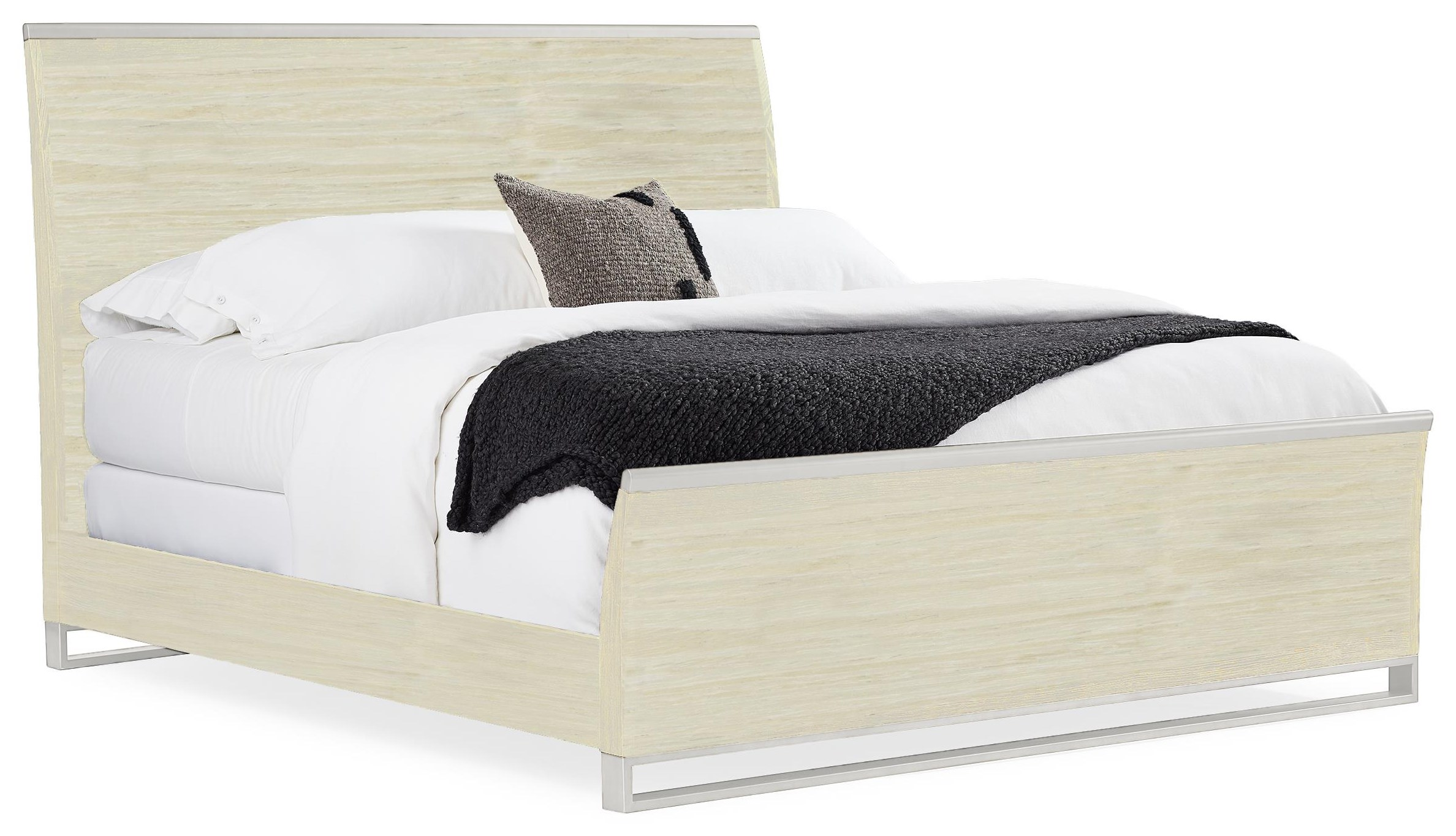 Remix King Panel Bed by Caracole at Baer's Furniture