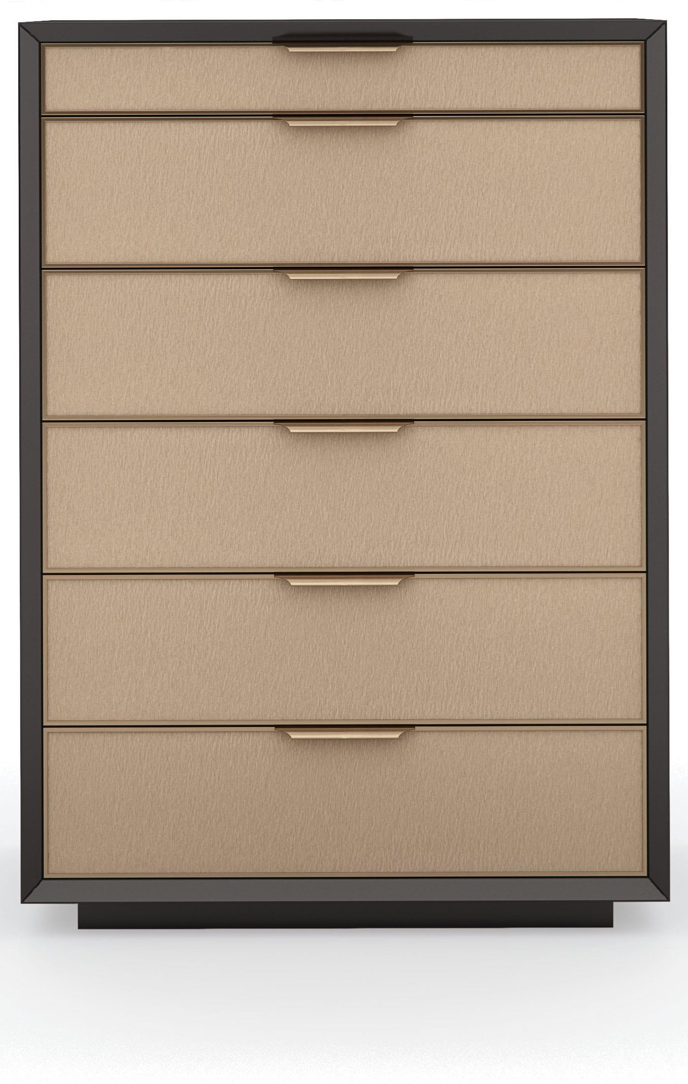 Wrap It Up 6 Drawer Two Tone Chest by Caracole at Baer's Furniture