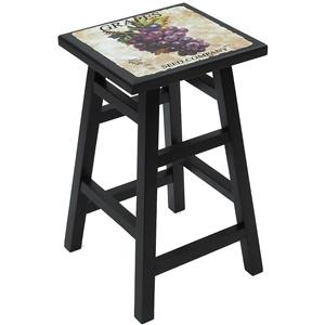 """Carolina Chair and Table Counter Height Dining 24"""" Grape Counter Stool"""