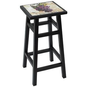 "Carolina Chair and Table Counter Height Dining 30"" Grape Bar Stool"