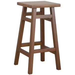 """Carolina Chair and Table Counter Height Dining 30"""" O'Malley Pub Bar Stool"""