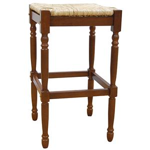 """Carolina Chair and Table Counter Height Dining 30"""" Hawthorne Bar Stool"""