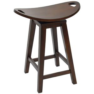 """Carolina Chair and Table Counter Height Dining 24"""" Lexington Counter Stool"""